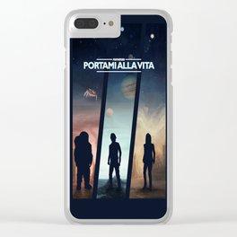 Portami alla Vita Clear iPhone Case