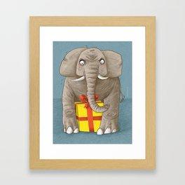 trunk or gift Framed Art Print