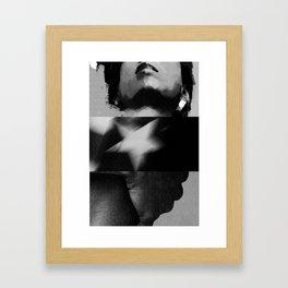 commie in bw Framed Art Print