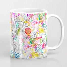 Tropical Botanical Sketchbook  Coffee Mug