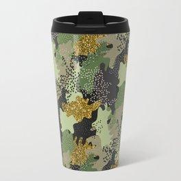 Modern Military Army Camouflage Pattern Travel Mug