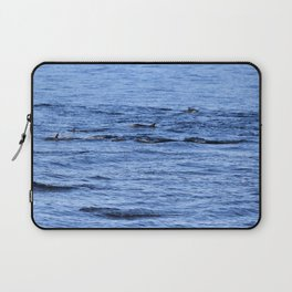 Dolphin Fins Laptop Sleeve