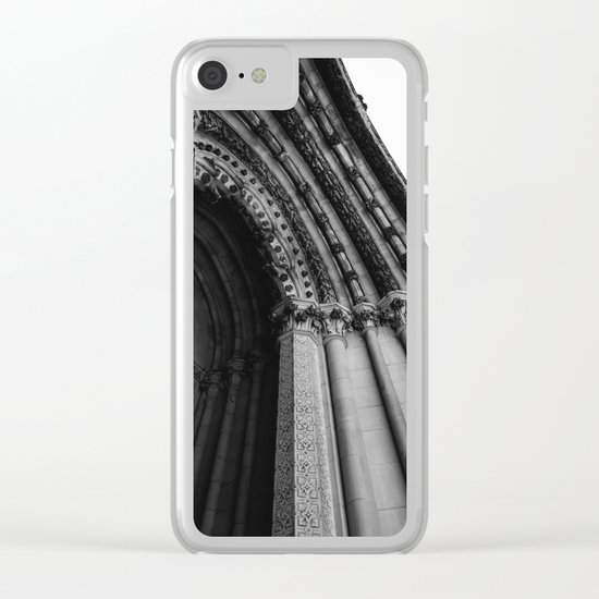 Cathedral Church of St. John the Divine Clear iPhone Case