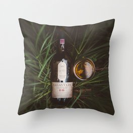 Lagavulin 16 Countryside Throw Pillow