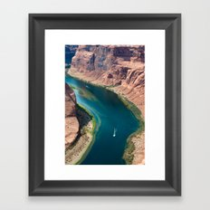 Well, sit right down my wicked son Framed Art Print