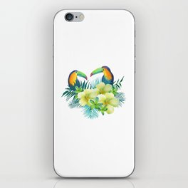 Tropical toucans iPhone Skin