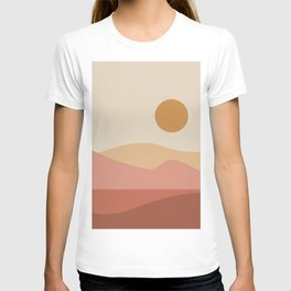 Geometric Landscape 23A T-shirt