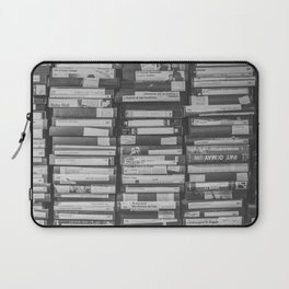 VHS Retro (Black and White) Laptop Sleeve