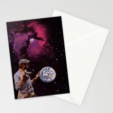 world in your hands Stationery Cards
