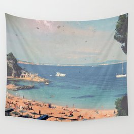A Private Mallorcan Beach For All Of Us Wall Tapestry