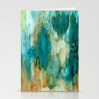 waterfall Stationery Cards featuring Waterfall by Rosie Brown