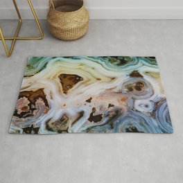 THE BEAUTY OF MINERALS Rug