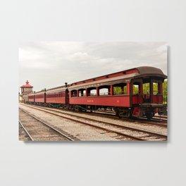 Strasburg Passenger Cars Metal Print