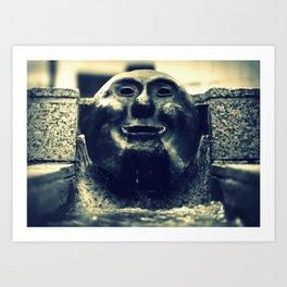 Pioneer Fountain Art Print