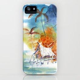 Tropic Life 13 iPhone Case
