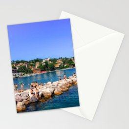 Lazy afternoon in Santa Margherita Stationery Cards