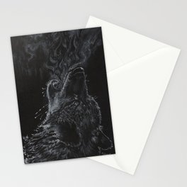Wolf - The Uneasy Chill Stationery Cards