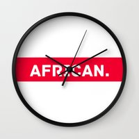 african Wall Clocks featuring AFRICAN by Iman Bss - BssStore