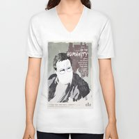 seinfeld V-neck T-shirts featuring For Seinfeld Fans pt.3 by Alain Cheung