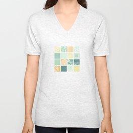 Squares-Light  Unisex V-Neck