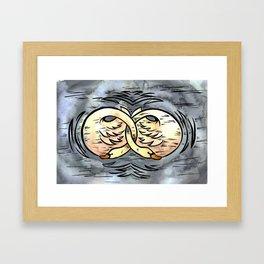Mates for Life Framed Art Print