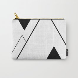 Minimal Mountains Carry-All Pouch