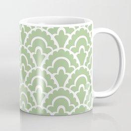 Fan Pattern Nile Green 113 Coffee Mug