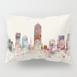indianapolis indiana skyline Pillow Sham
