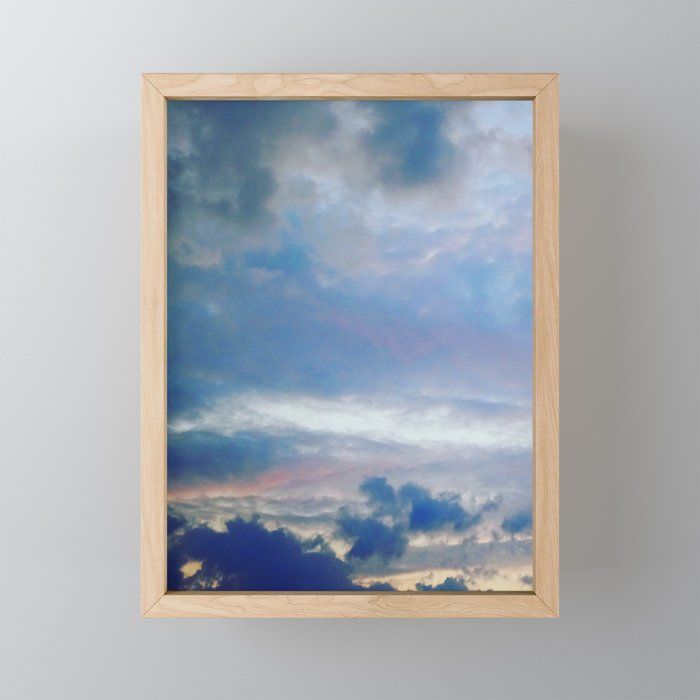 Amsterdamsky Framed Mini Art Print