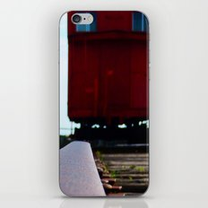 The track and the Train iPhone & iPod Skin