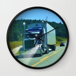 Supplying the Nation Wall Clock