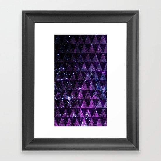 In Space Between Framed Art Print