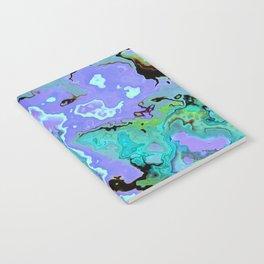 Cerulean Marble Notebook