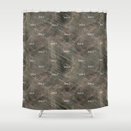 """Christian """"loved"""" Shower Curtain"""