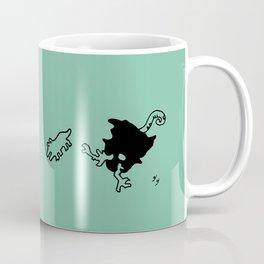 dorky Mujo - Celadon green Coffee Mug