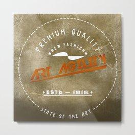 Art Agility Premium Quality Retro Metal Print