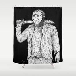 Jason Voorhes Shower Curtain