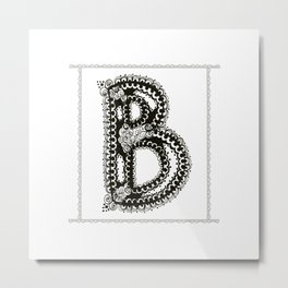 Color Me B Metal Print