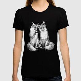 Gossip foxes T-shirt