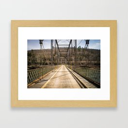 Silent Bridge Framed Art Print