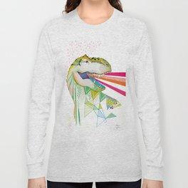 Dinosaur / August Long Sleeve T-shirt