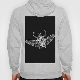 Goliath Beetle in White Hoody