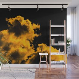 A little touch of bitterness (all yellow) Wall Mural