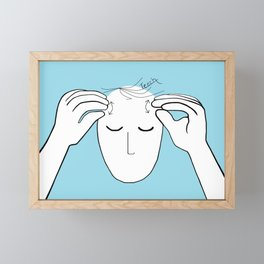 ASL Teach Framed Mini Art Print