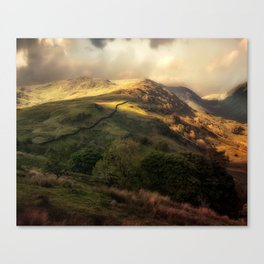 Postcards from Scotland Canvas Print