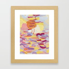 Sky Meditations on Joyous Days Framed Art Print