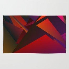Smoke Screen Abstract 1 Rug