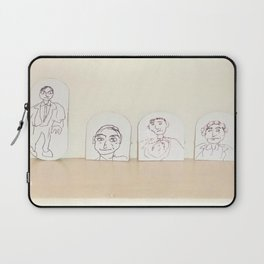 small cardboard tab drawings Laptop Sleeve