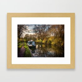 An Autumn Afternoon At Hungerford Framed Art Print
