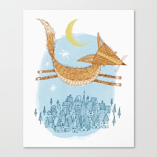 'Flying Fox' Canvas Print